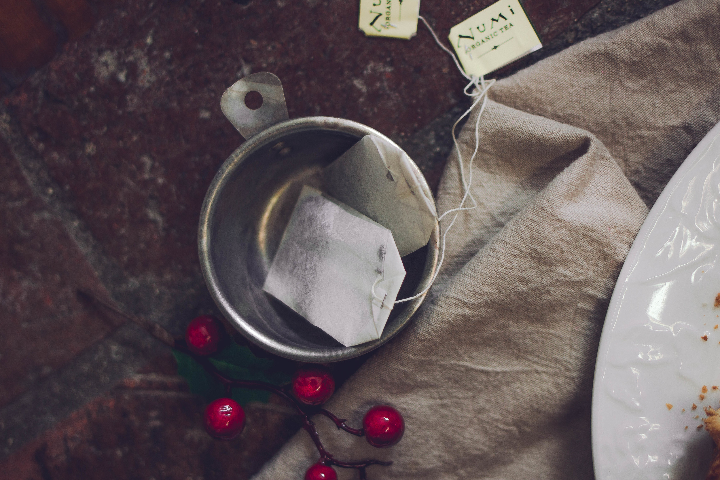 Baking pound cake with Numi Tea | by fit for the soul
