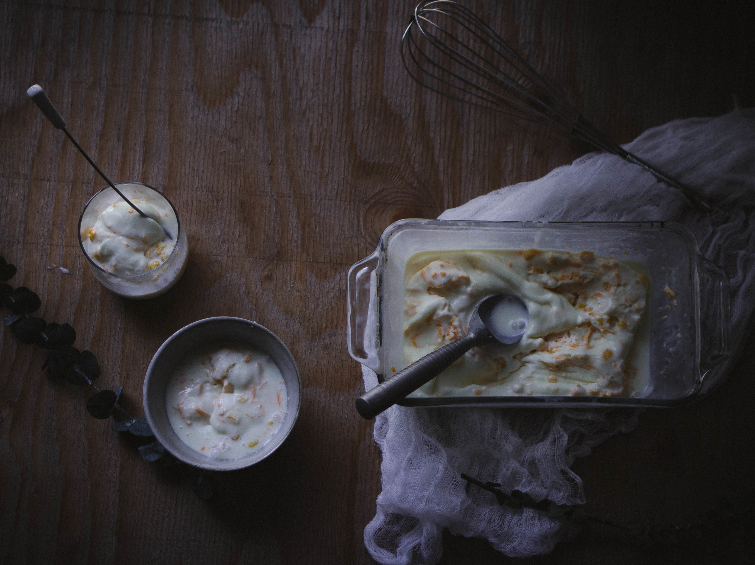 Mais Queso Ice Cream {No-Churn} Recipe, No Equipment Needed for Snixykitchen's baby shower | by fit for the soul