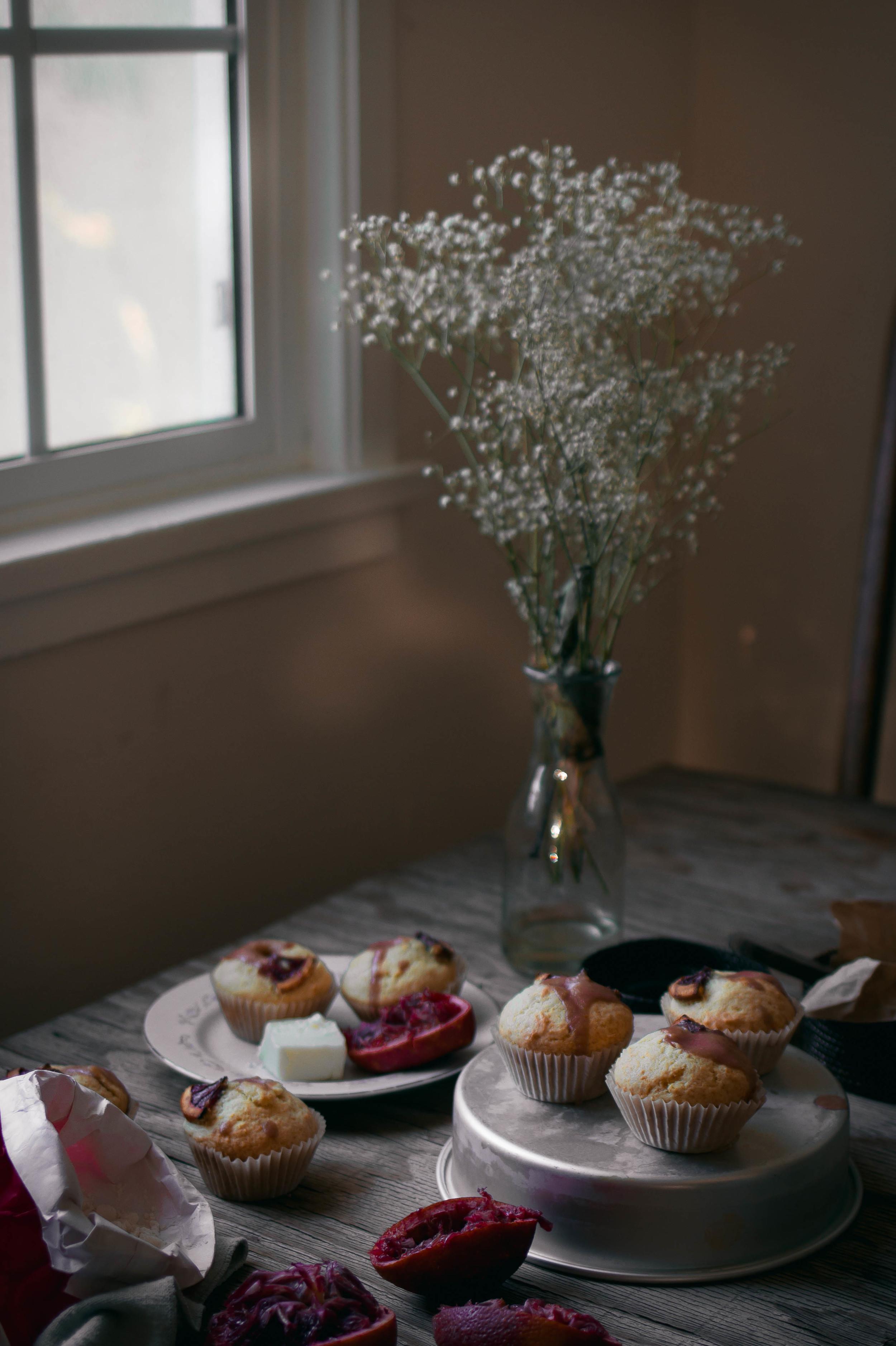 Citrus muffins and a blood orange curd recipe #kafrecipes | by fit for the soul