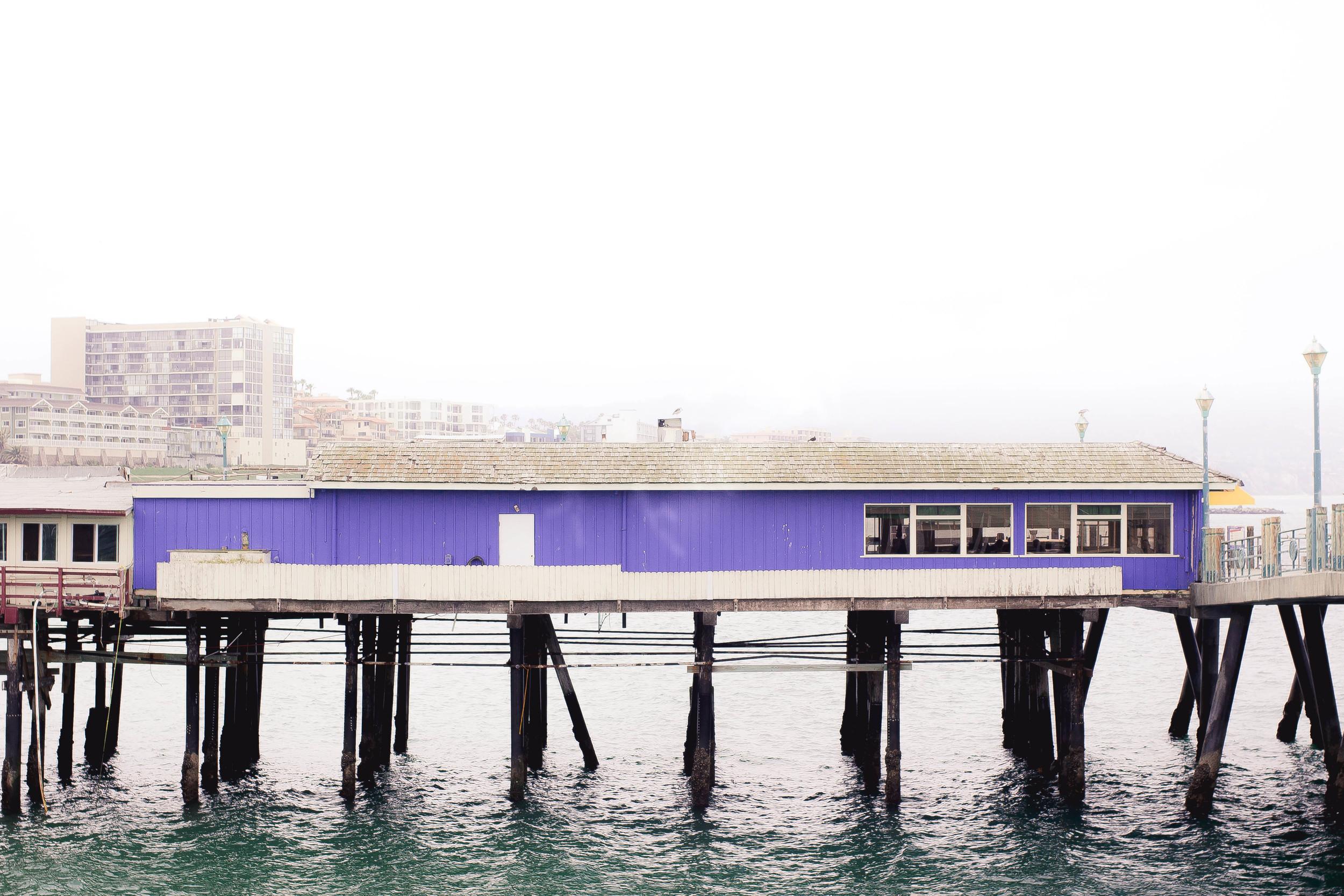 Redondo Beach Pier in fog | from scratch, mostly