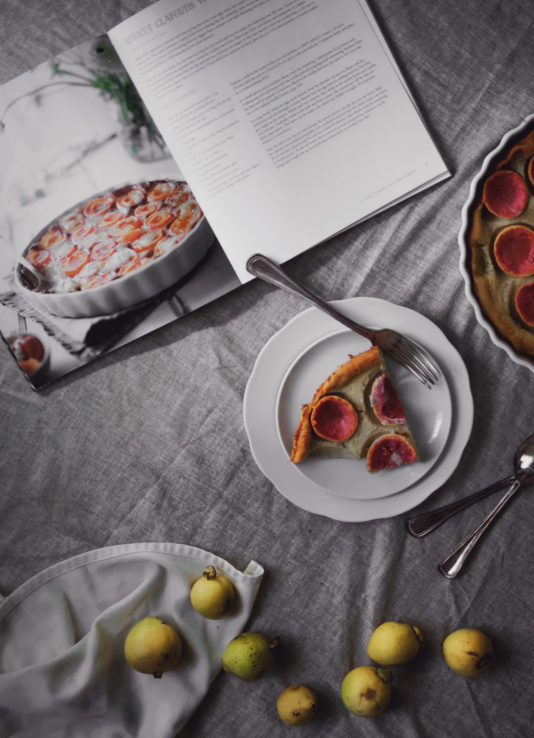 Gluten free guava cardamom clafoutis recipe, an adaptation from the #AlternativeBakerBook | from scratch, mostly