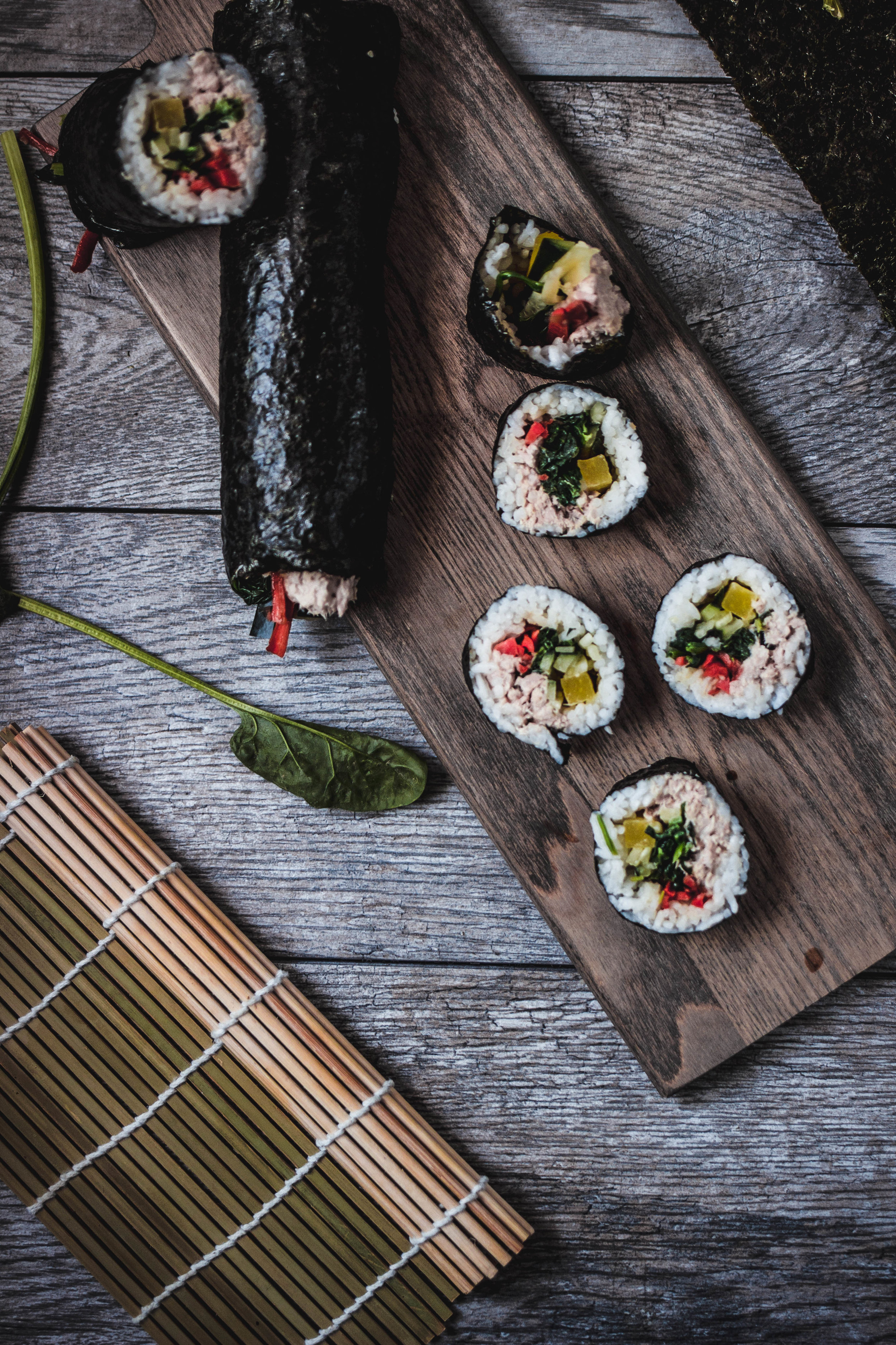 how to make tuna kimbap (cham-chee kimbap) step by step | from scratch, mostly