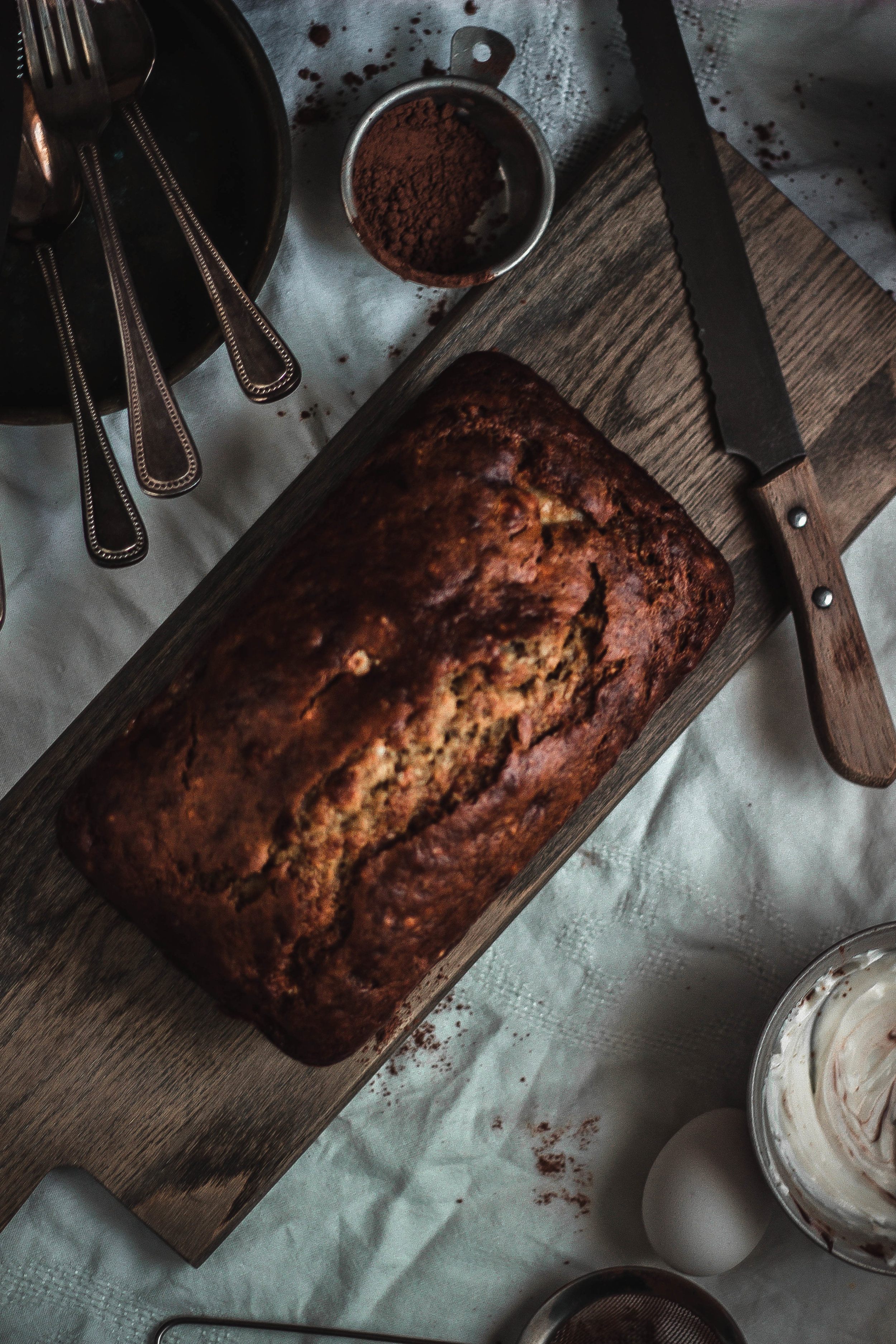Super moist banana bread recipe and how to make chocolate glaze that hardens | from scratch, mostly