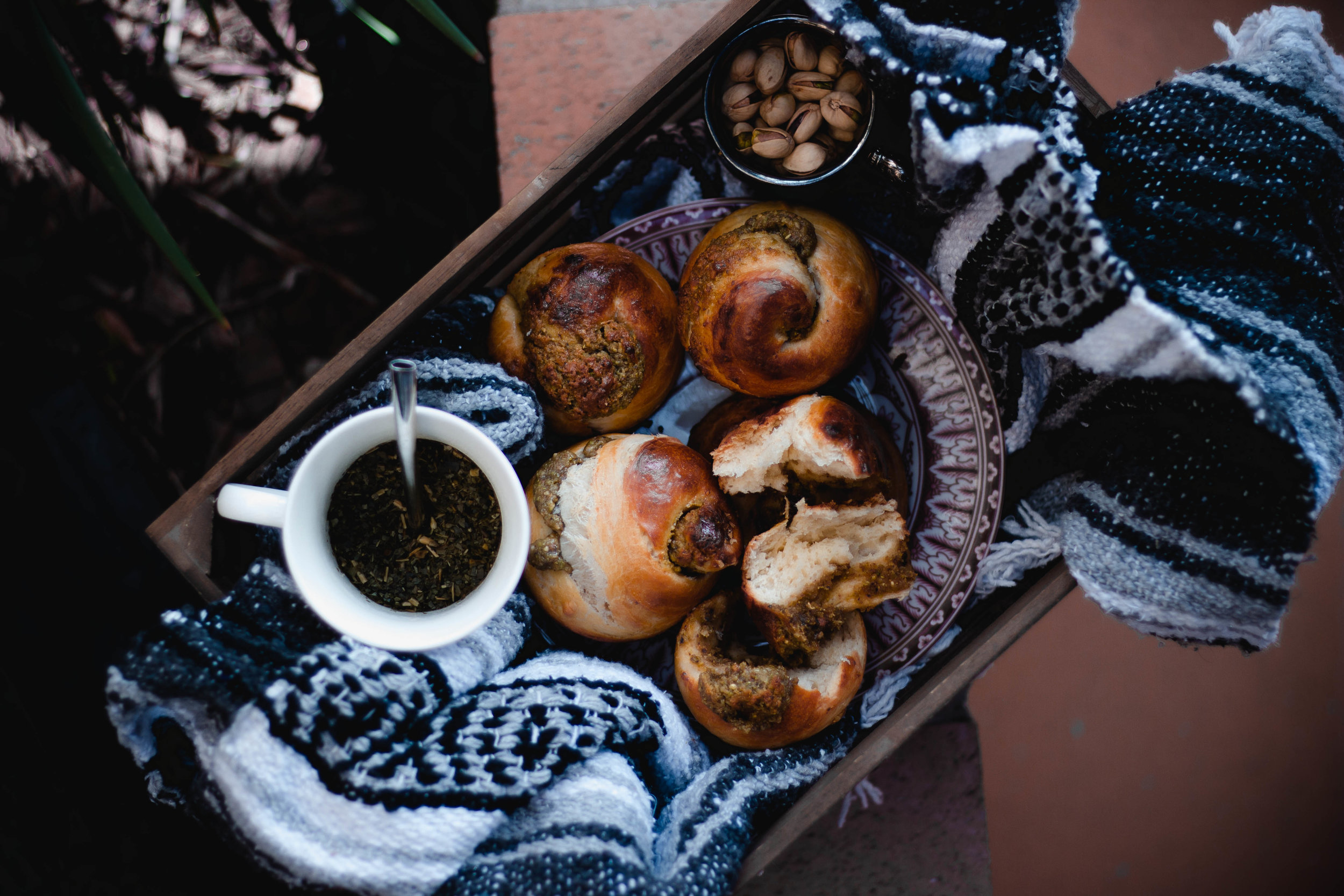 How to make a fluffy brioche, plus a pistachio filling | from scratch, mostly