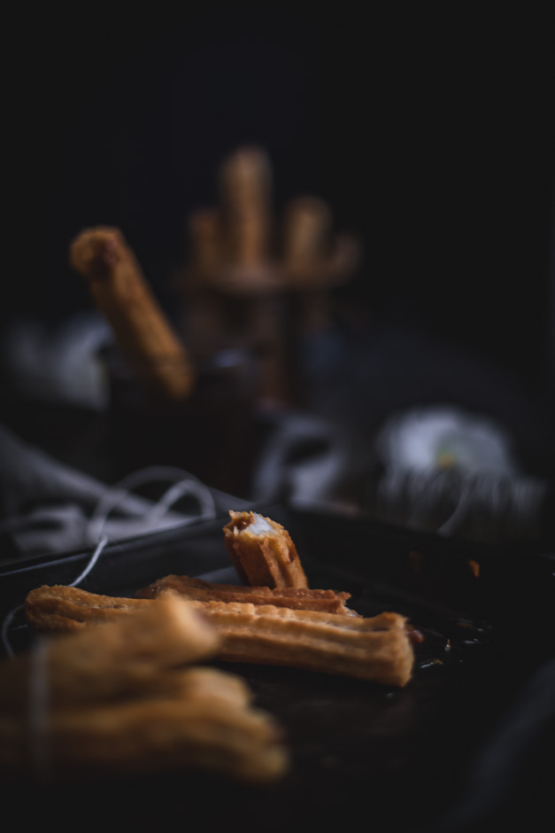 How to make Argentinian dulce de leche churros, with a coffee chocolate sauce | from scratch mostly
