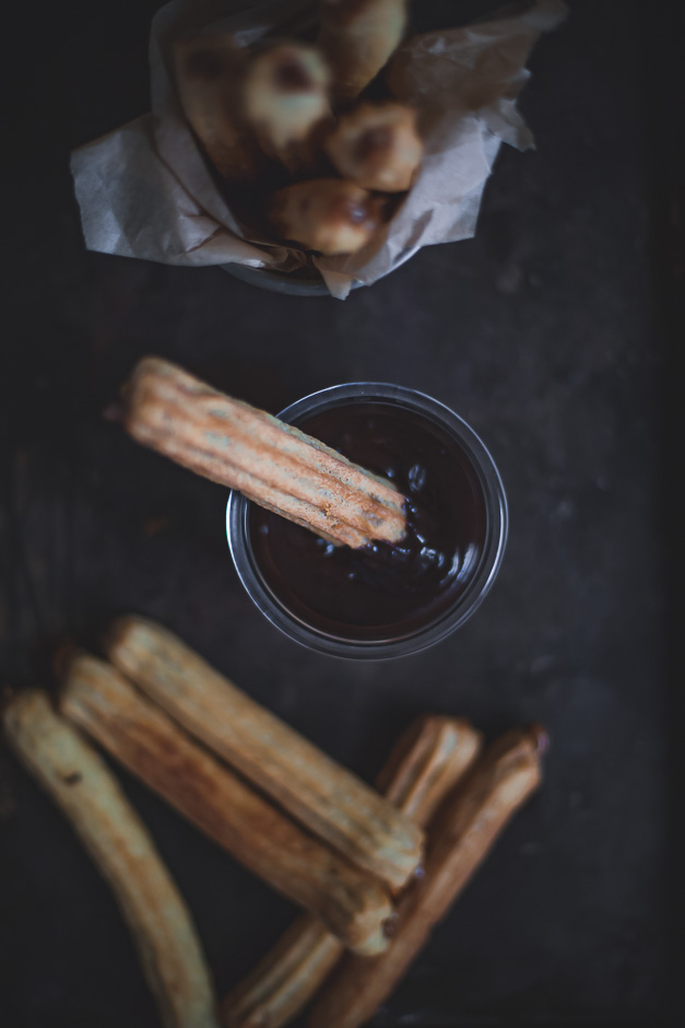 How to make churros with no eggs, easy | from scratch mostly