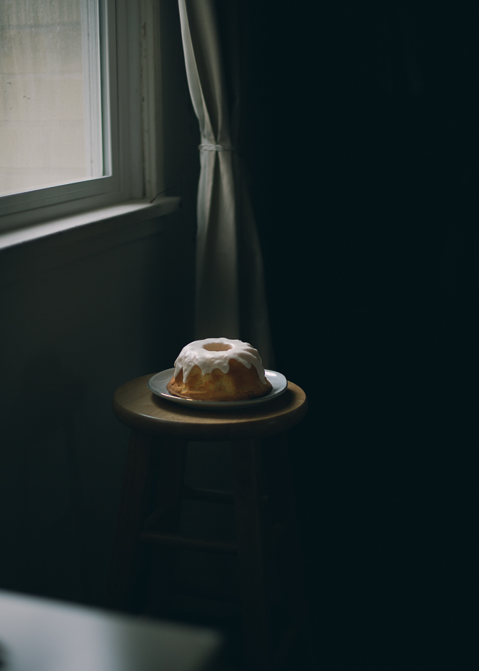 Dark and moody cake photography | from scratch, mostly blog