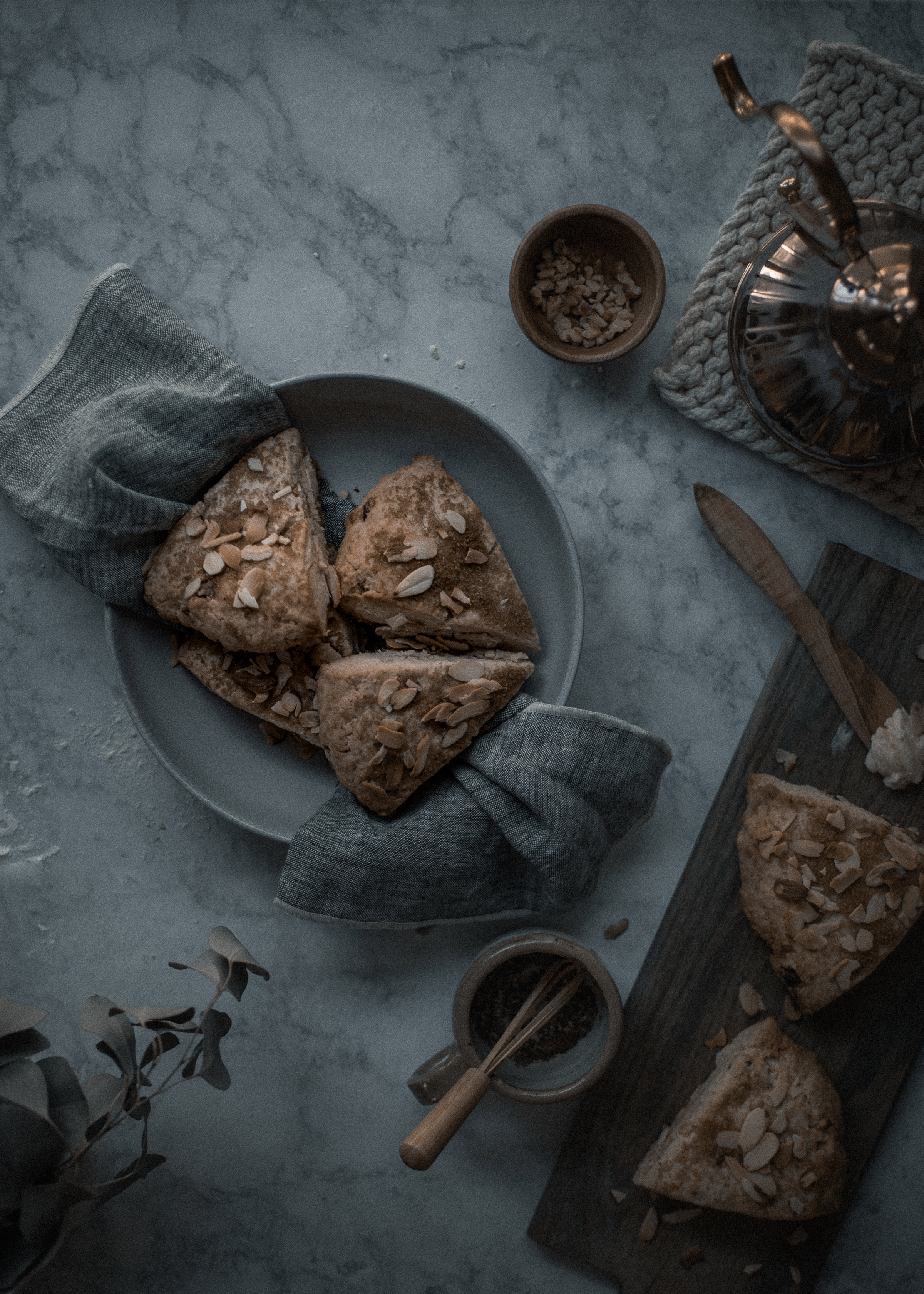 The most tender, creamy chestnut scone recipe with Plugra salted butter | from scratch, mostly blog