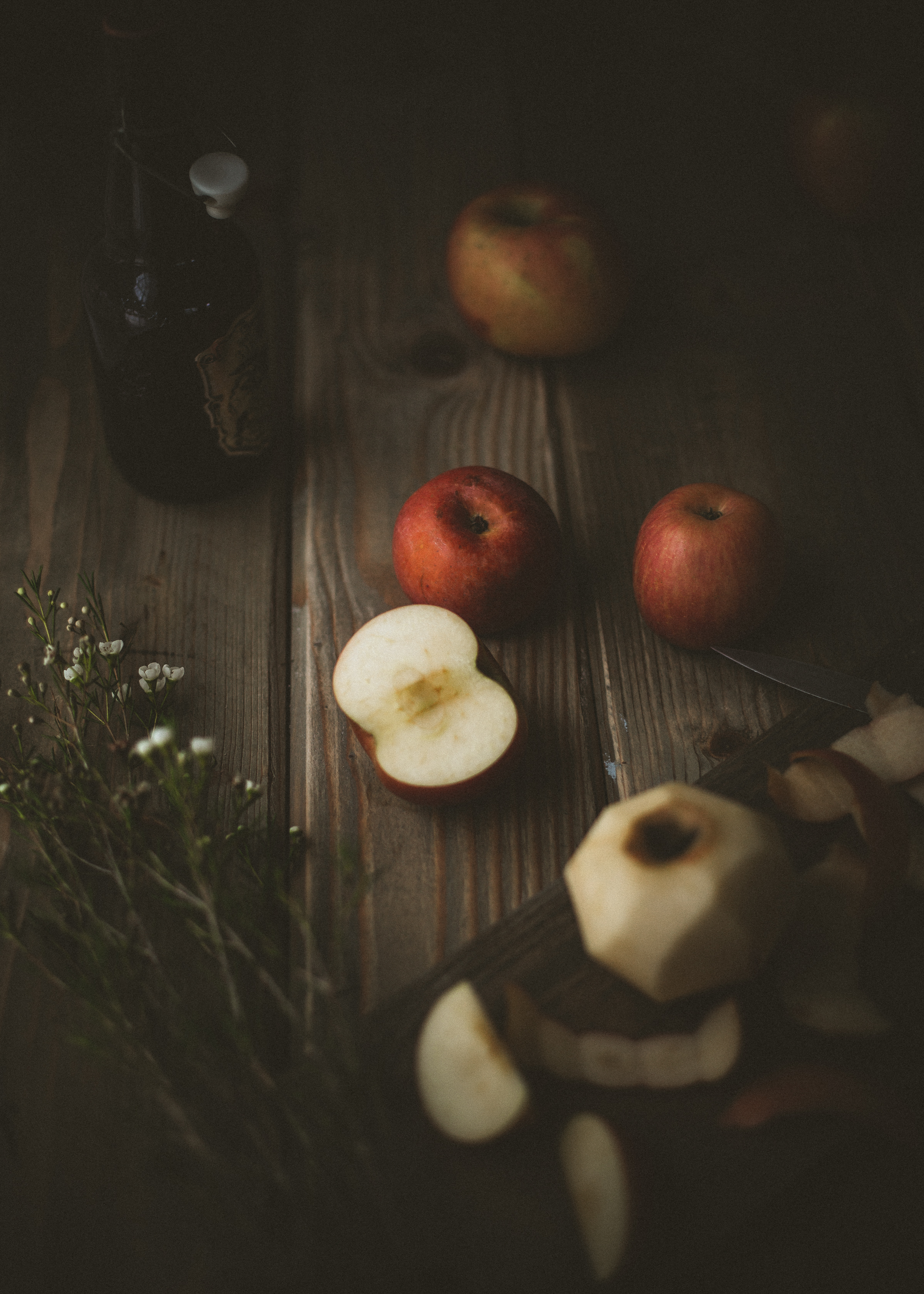 Apples still life photography | from scratch, mostly blog