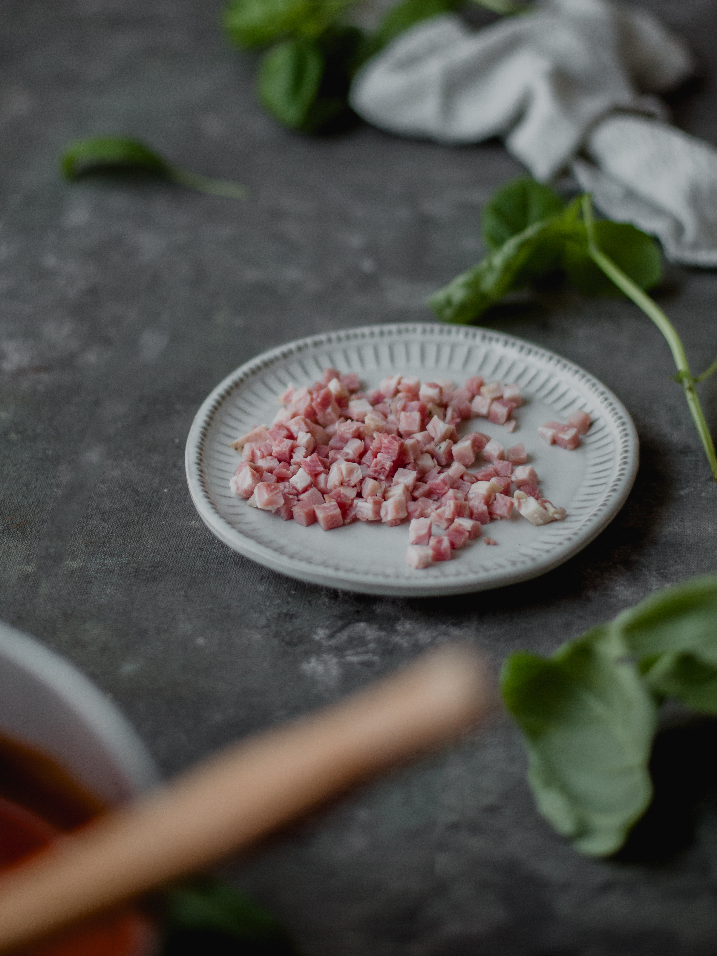 Creating umami flavors with pancetta and cured meats | from scratch, mostly blog
