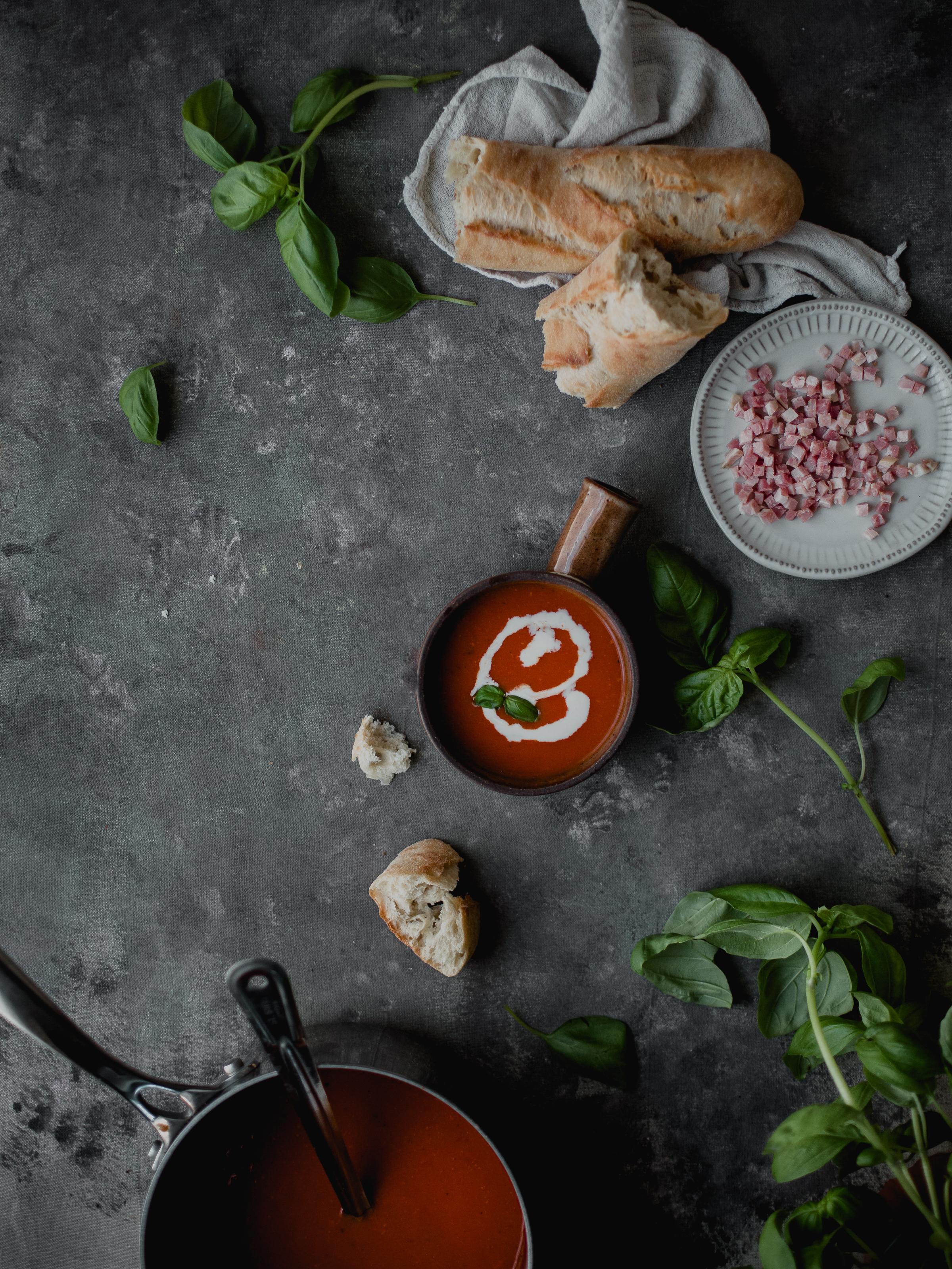 Umami tomato soup recipe | from scratch, mostly blog