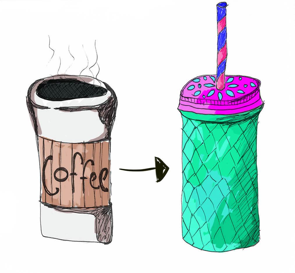 Smoothie vs Coffee