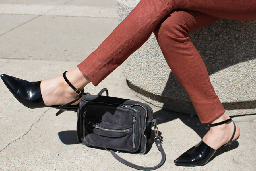 WoahStyle.com | Alexander Wang shoes & bag, Jbrand jeans