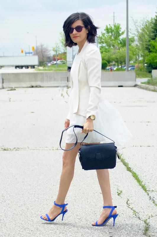 WoahStyle.com | white dress street style, Alexander Wang