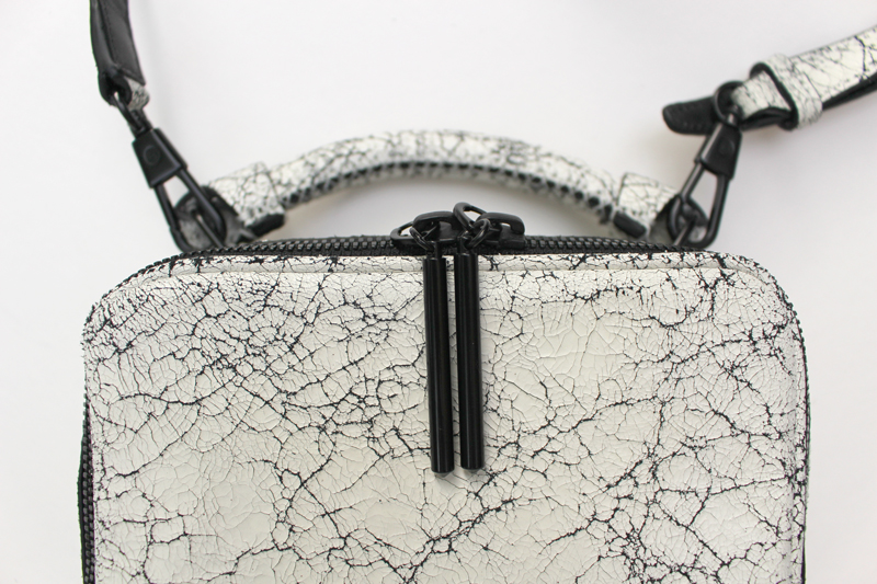 WoahStyle.com | 3.1 Phillip Lim Ryder Bag - White Cracked Leather