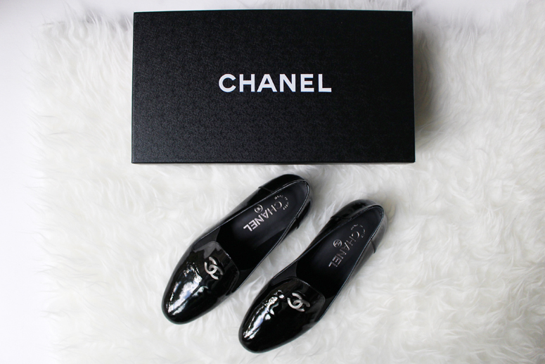 WoahStyle.com | Chanel Patent Leather Loafer