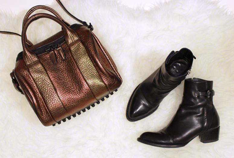 WoahStyle.com | Alexander Wang boots & Rockie #streetstyle #fall