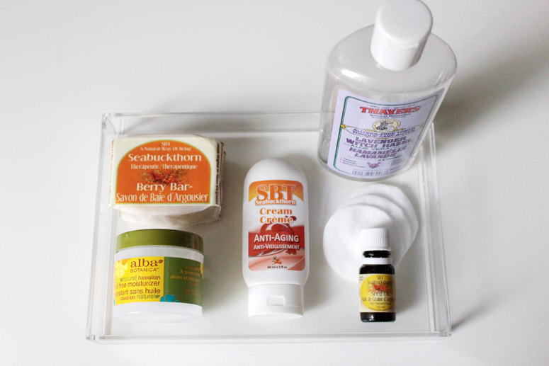 WoahStyle.com | Natural Skincare Regimen with SBT Seabuckthorn, Alba Botanica and Thayers