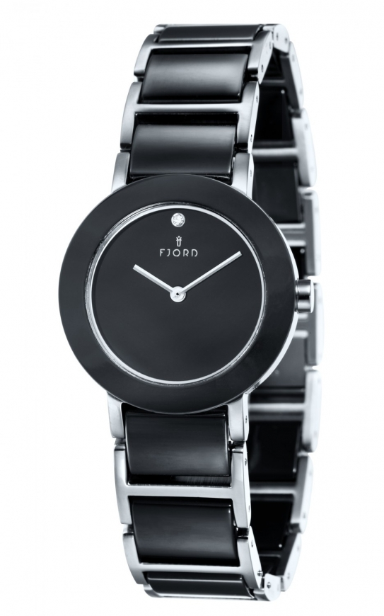 WoahStyle.com | Fjord Timepieces CELILIA ceramic 2 hand Watch