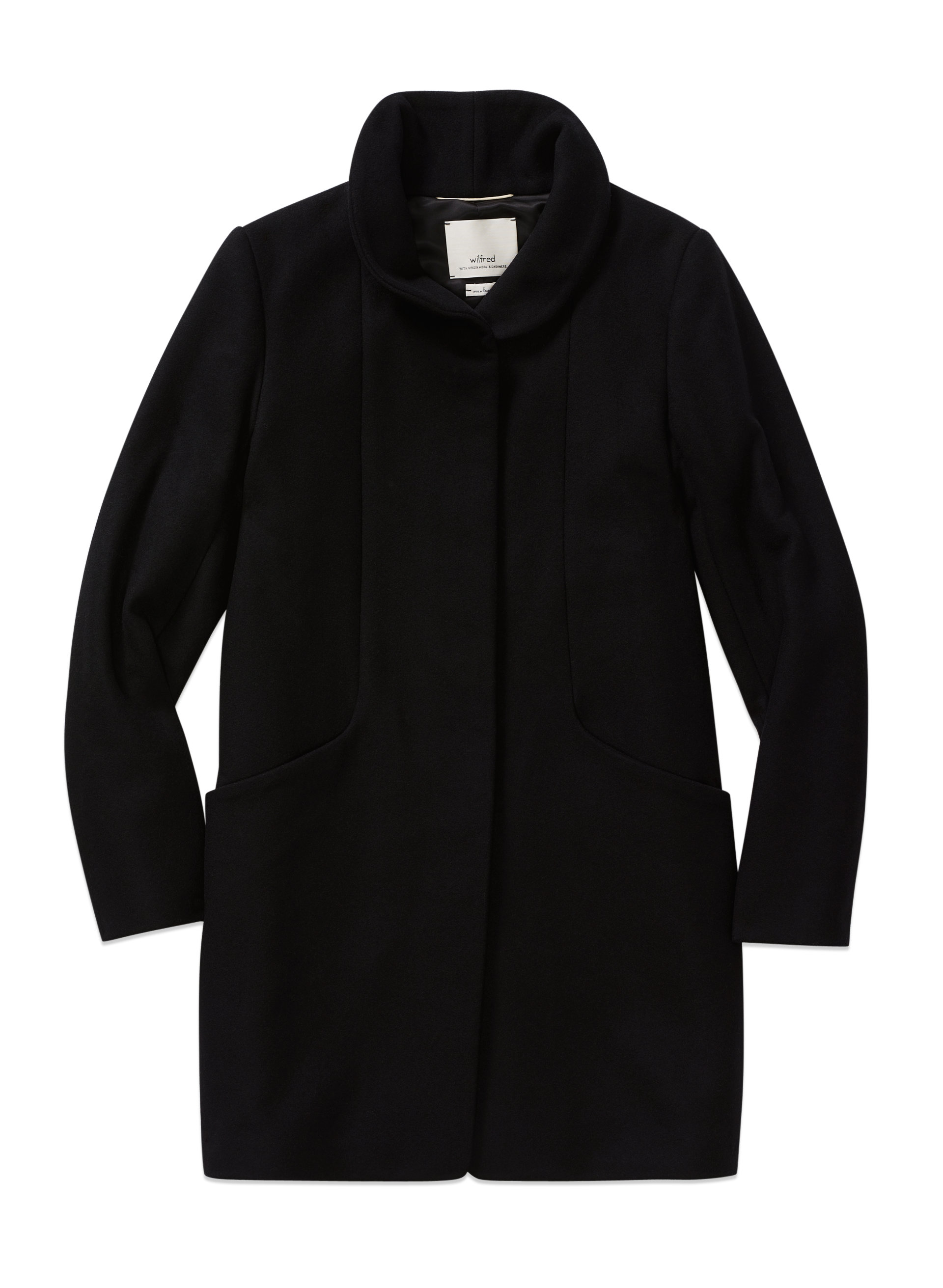 WoahStyle.com | Aritzia Wilfred Cocoon Coat