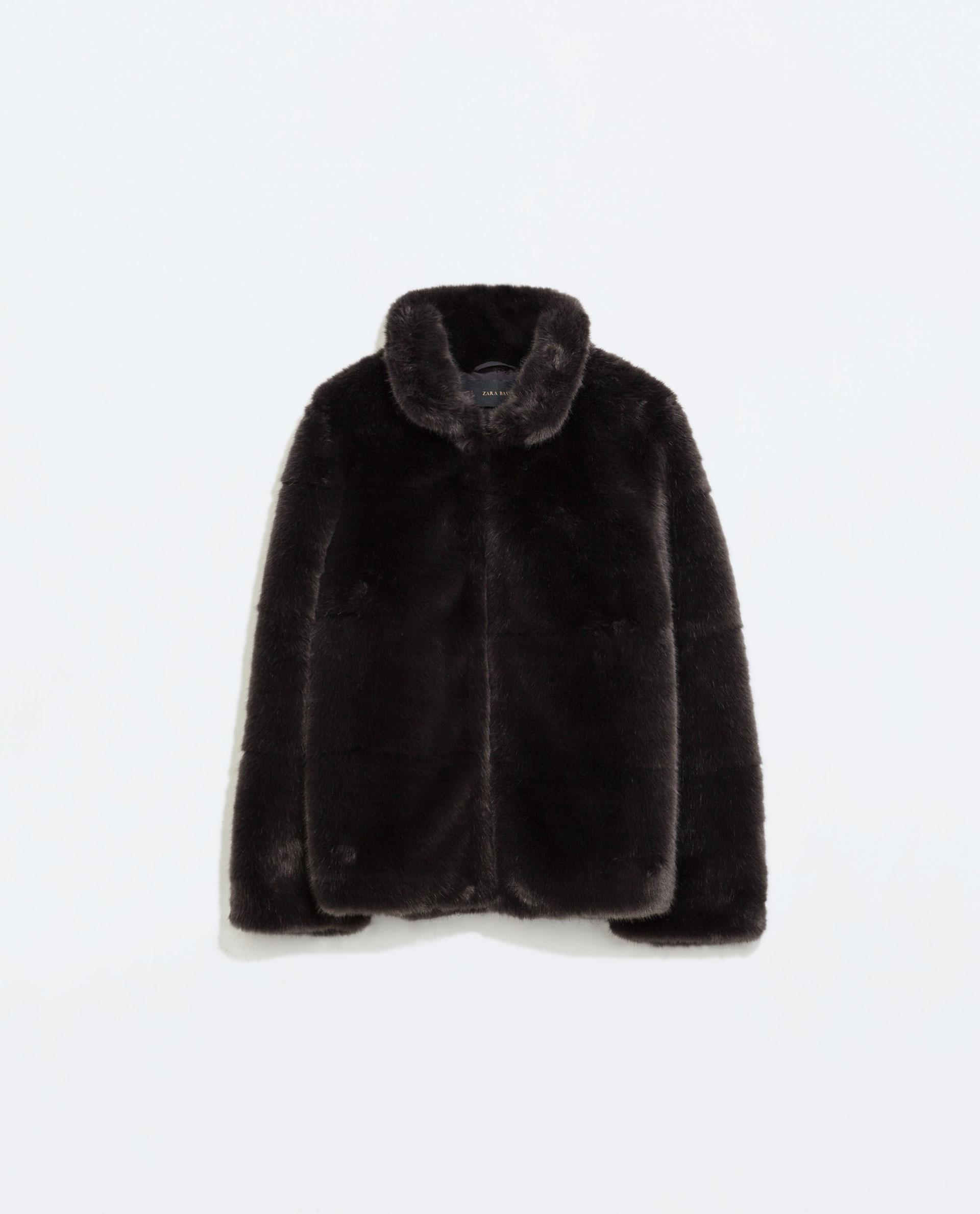 WoahStyle.com   Zara Fur Jacket