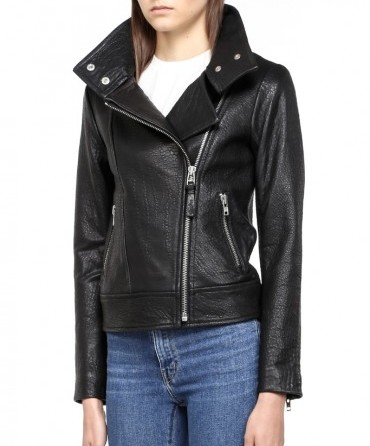 WoahStyle.com | Mackage Lisa Leather Biker Moto Jacket