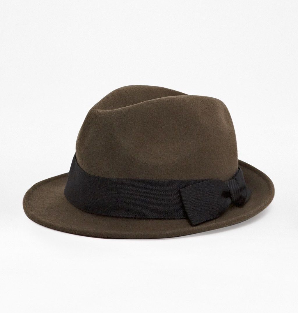 WoahStyle.com | French Connection FCUK brown fedora