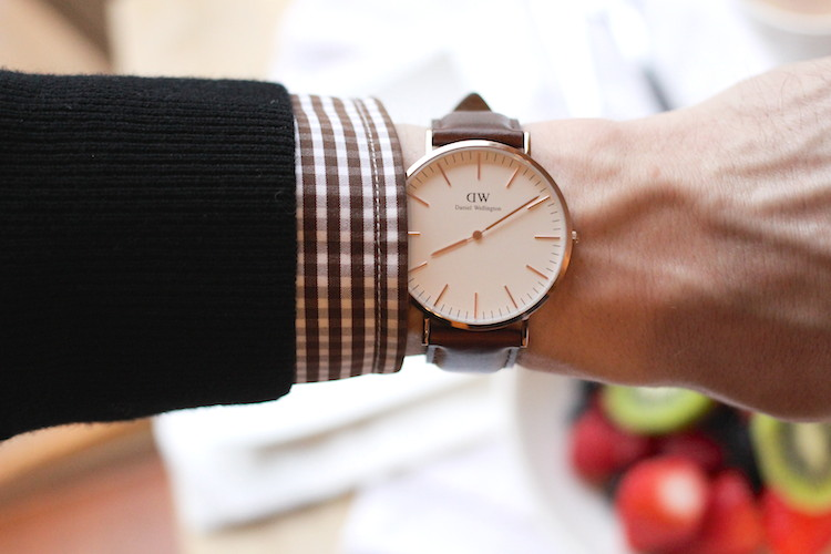 WoahStyle.com | Daniel Wellington Classic Bristol Men's watch in rose gold #mensstyle