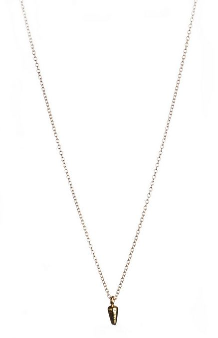WoahStyle.com | Lisbeth Ellery delicate gold necklace