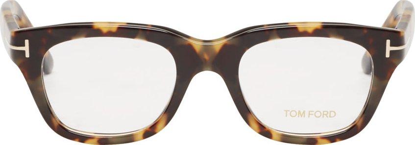 WoahStyle.com | Tom Ford Black Tortoiseshell TF5178 Optical Glasses