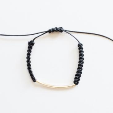 WoahStyle.com | Birds Of A Feather black bracelet B1226BL