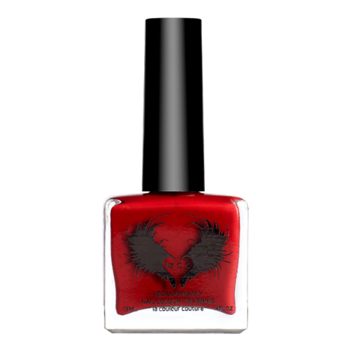 WoahStyle.com | Lacc Beauty Red Vegan Nail Polish