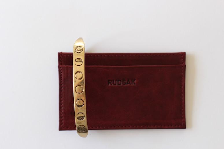 WoahStyle.com | Bordeaux accessories, Rudsak business card holder, Jenny Bird brass Luna Handpiece