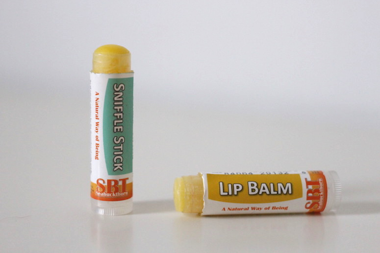 WoahStyle.com | Seabuckthorn 100% natural and Canadian lip balm & sniffle stick