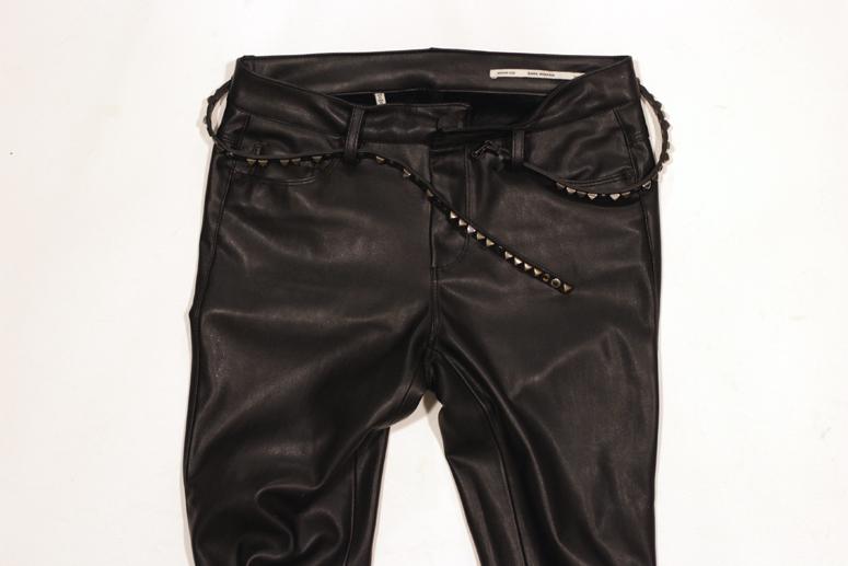 WoahStyle.com| How to wear (faux) leather pants