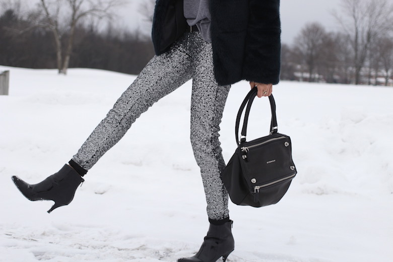 WoahStyle.com | How to style sequin pants