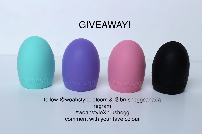 WoahStyle.com x brushegg Giveaway!