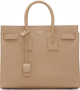 Saint Laurent  Beige Small Sac du Jour Bag