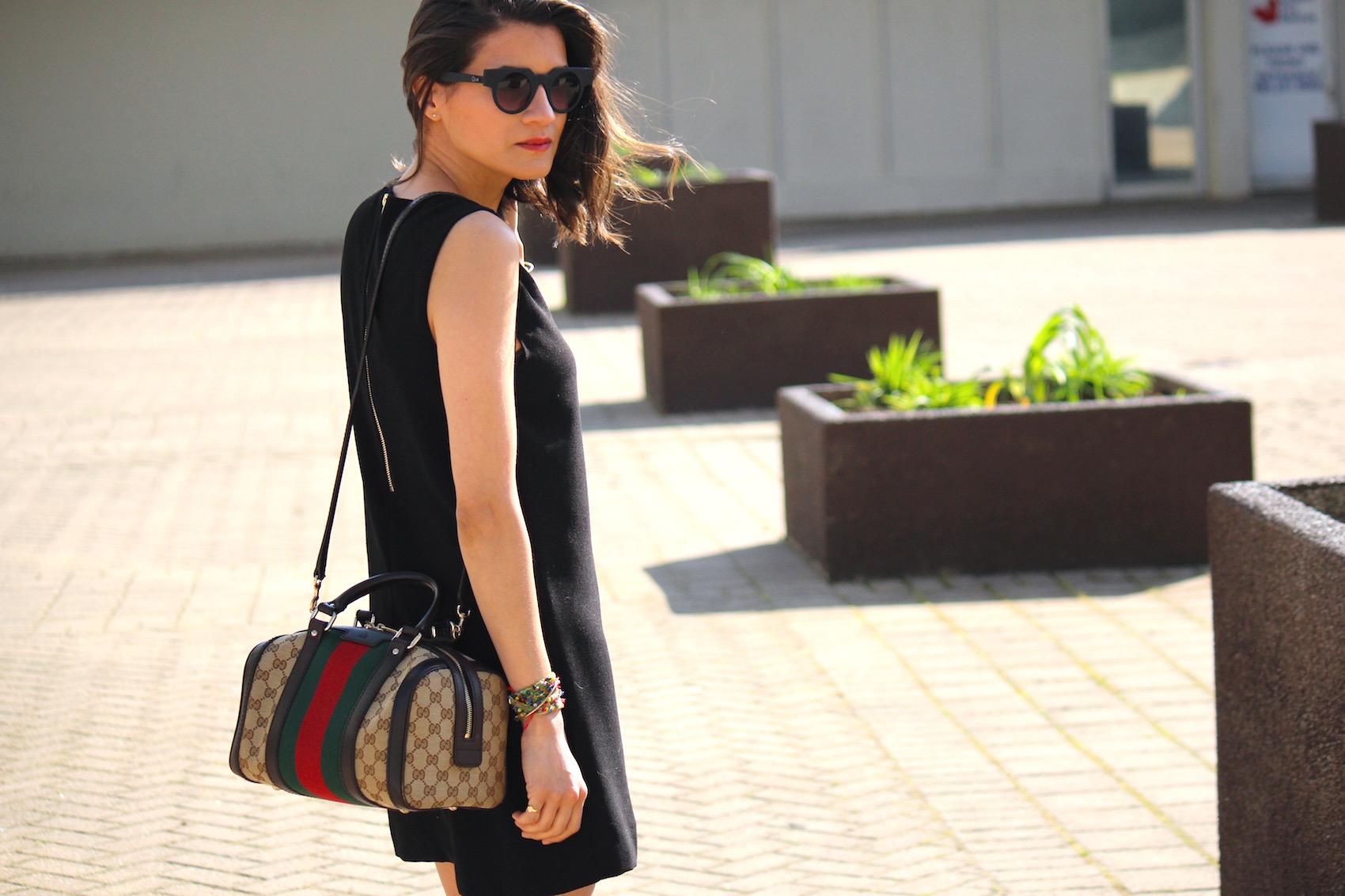 WoahStyle.com | How to Wear Black in the Summer_Black Mini Dress_Zara Gladiator Sandals_Gucci Boston Bag with Heritage Stripes_Street_Style_2898.jpg