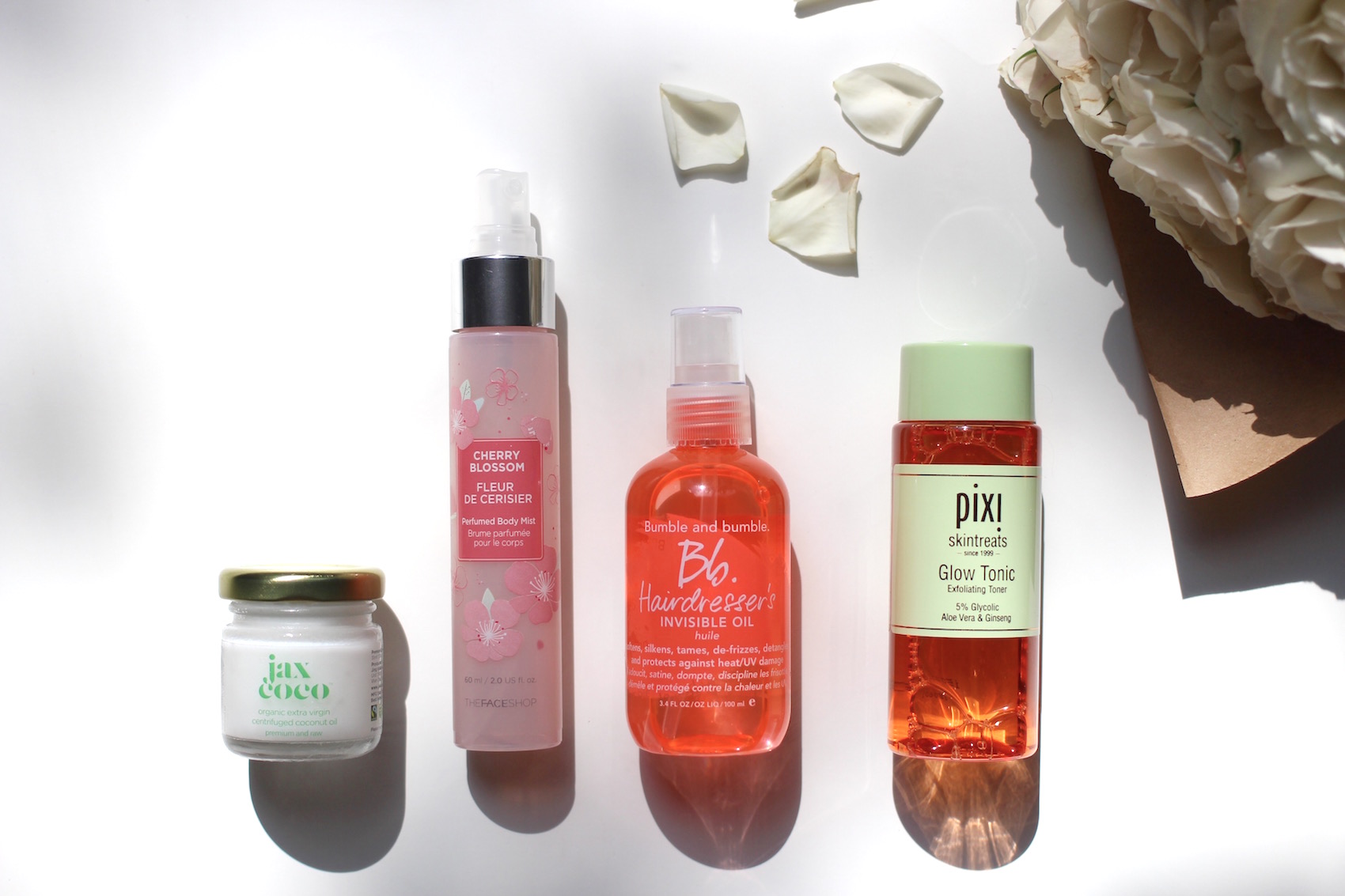 WoahStyle.com-Pre Fall Beauty Faves for Beautiful Skin and Silky Hair-Pixi Glow Tonic-Jax Coco Organic Extra Virgin Coconut Oil-The FaceShop Cherry Blossom Body Mist_Bumble and Bumble Hairdressers Invisible Oil_Fall 2015_8705.jpg