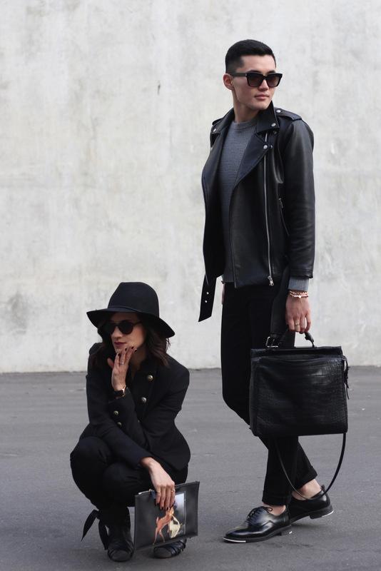 WoahStyle.com x GlobalGarcon.com_Zara army band jacket_Rag and Bone zippered moto jeans_Isabele Marant Angie boots_Givenchy Bambi Clutch_Antigona_StreetStyle Luxe_Fashion Bloggers_OOTD_4248.JPG