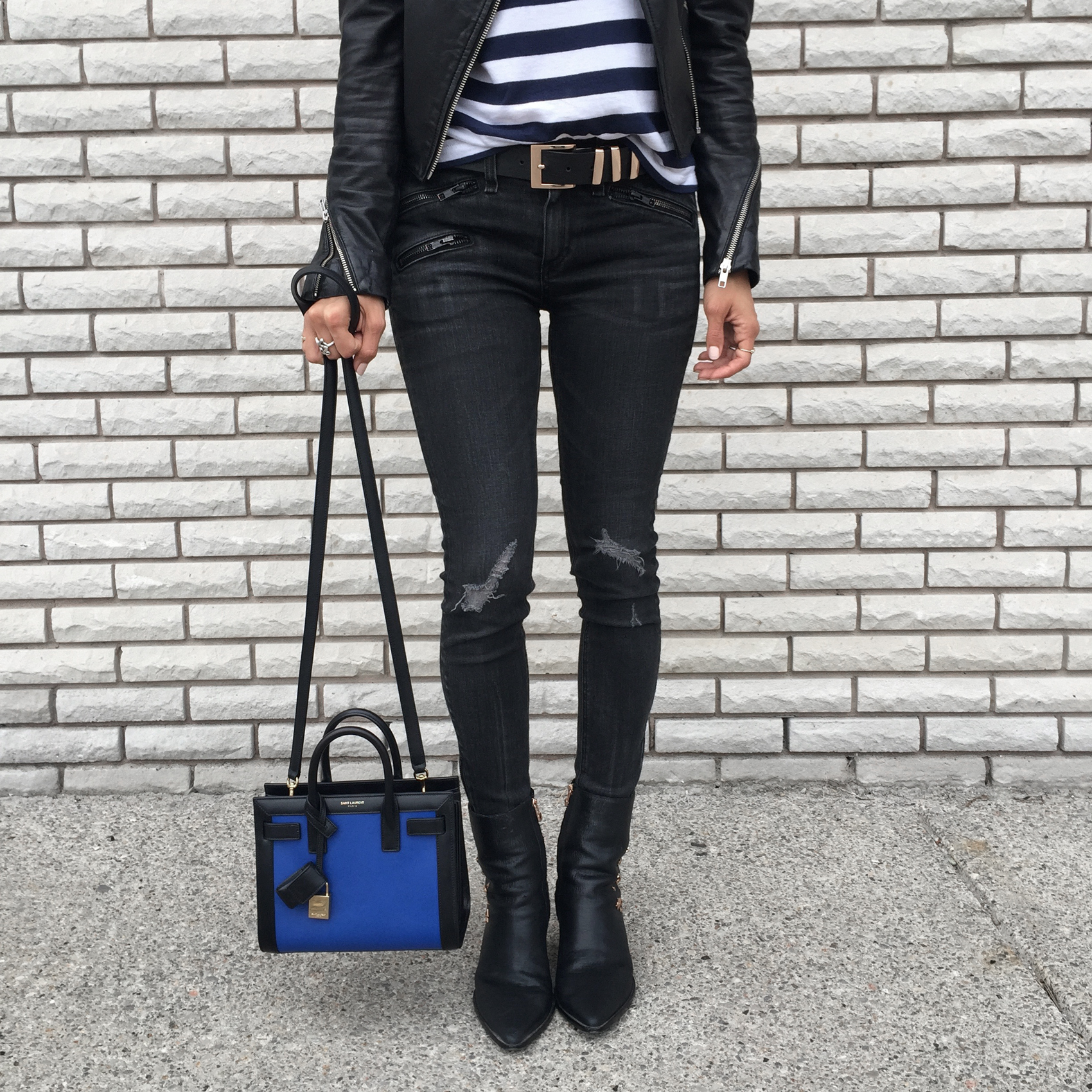WoahStyle.com_Upper Canada Mall Gorgeous Magazine_Rag and Bone jeans_Mackage leather jacket_Kate Bosworth Matisse Star Boots_YSL Saint Laurent Nano Sac De Jour_Striped Tshirt_OOTD_StreetStyle_Luxe_5175.jpg
