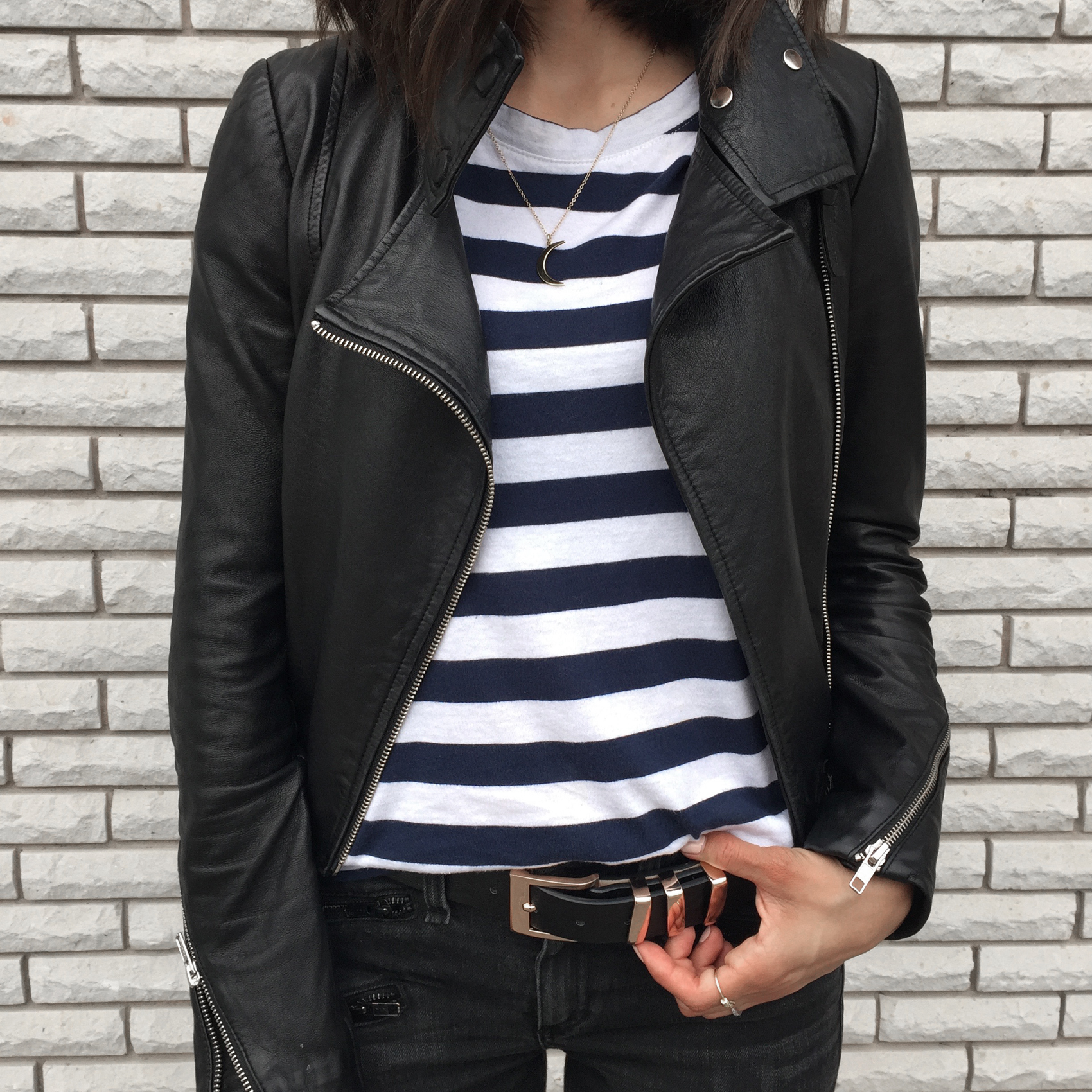 WoahStyle.com_Upper Canada Mall Gorgeous Magazine_Rag and Bone jeans_Mackage leather jacket_Kate Bosworth Matisse Star Boots_YSL Saint Laurent Nano Sac De Jour_Striped Tshirt_OOTD_StreetStyle_Luxe_5190.jpg