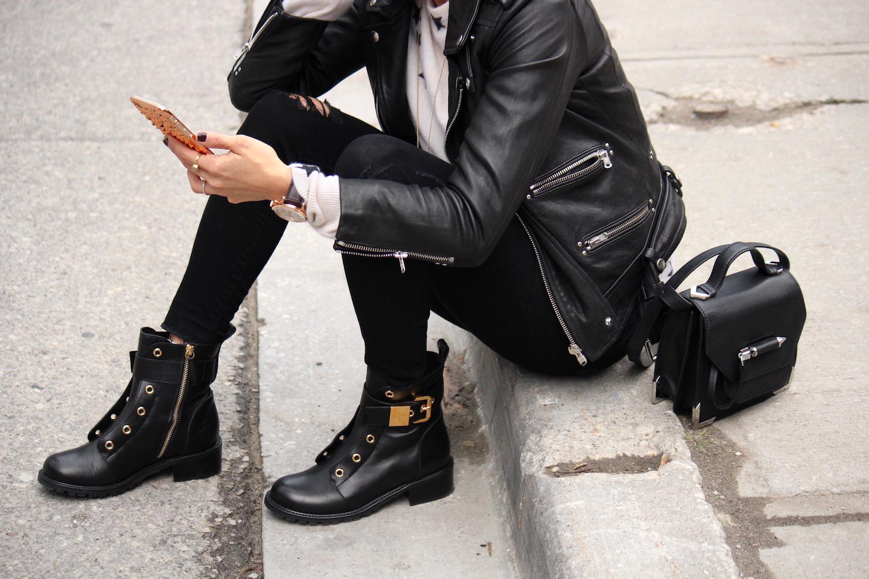 WoahStyle.com_Glam Combat Boots_Giuseppe Zanotti_Zara jeans_Equipment cashmere star sweater_The Kooples leather jacket_Mackage Rubie bag_StreetStyle_Street_Style_OOTD_Toronto_Fashion_Blogger_5707.jpg