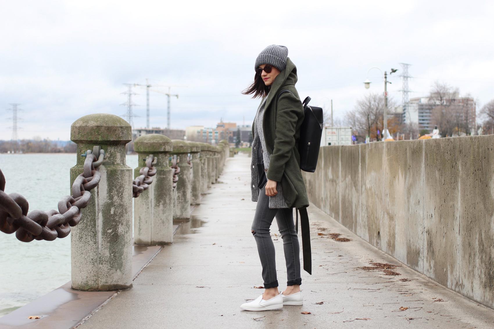 WoahStyle.com-Banana-Republic-jeans-knitted-grandfather-cardigan-Old-Navy-Olive-Wrap-coat-Gap-sweatshirt-Everlane-white-slip-on-sneakers-street-style-toronto-fashion-blogger-ootd_7607.jpg