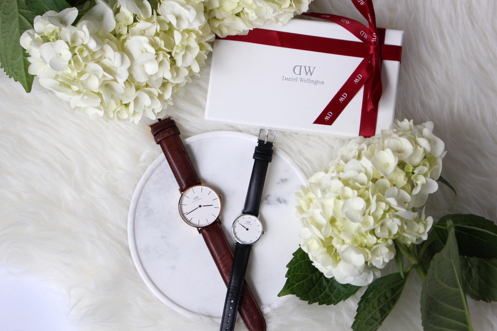 Daniel Wellington timepiece,  Classy Sheffield and Classic Bristol.