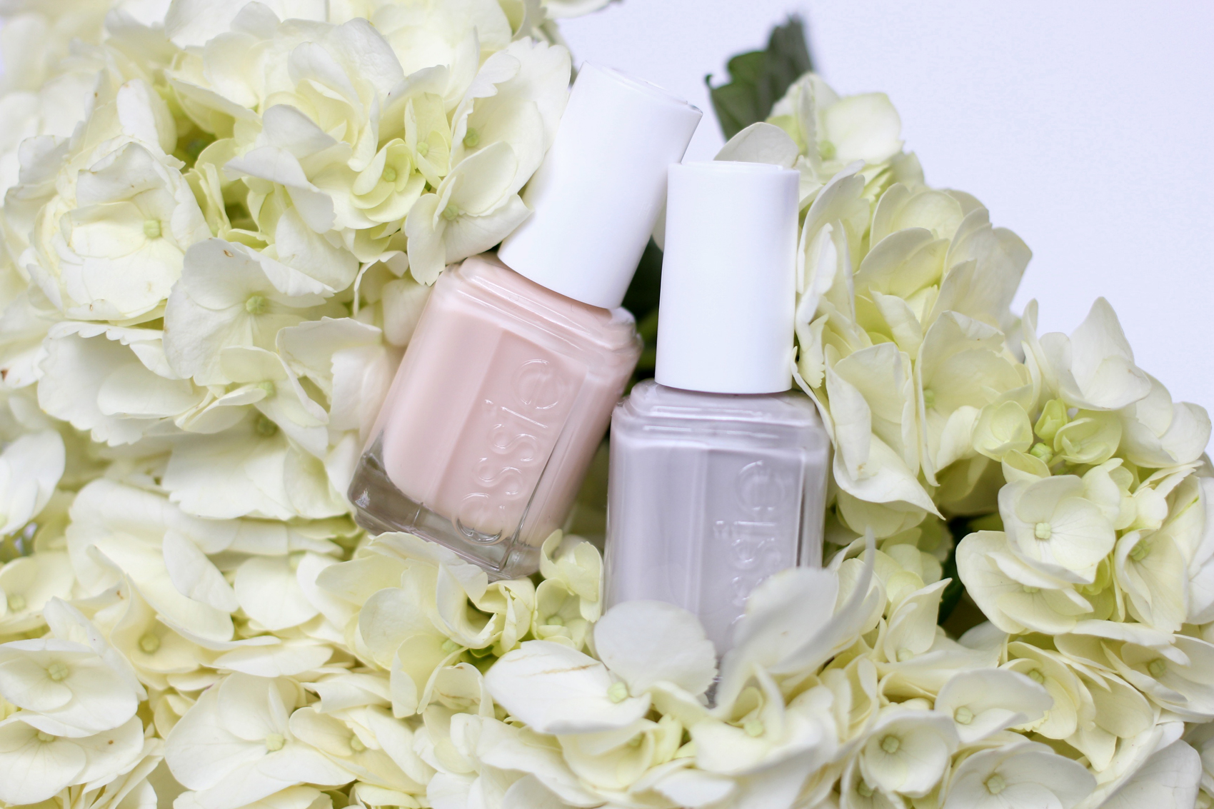 Birthday Suit (cheeky delicate nude) & Cabana Boy (ultra-cool pearly white)