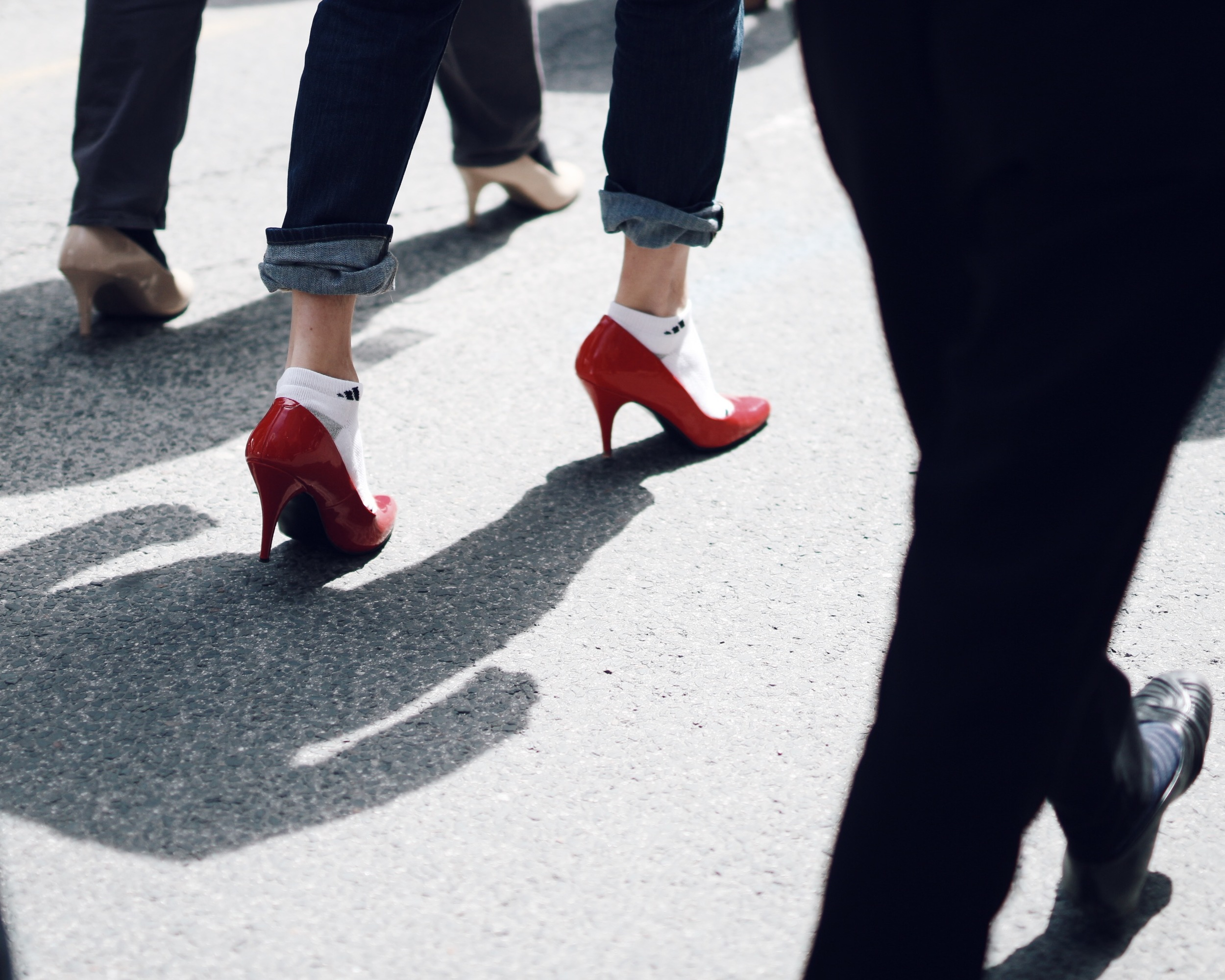 WOAHSTYLE.COM-Town Shoes Sam Edelman slip ons-Walk A Mile In Her Shoes Toronto_6147.JPG