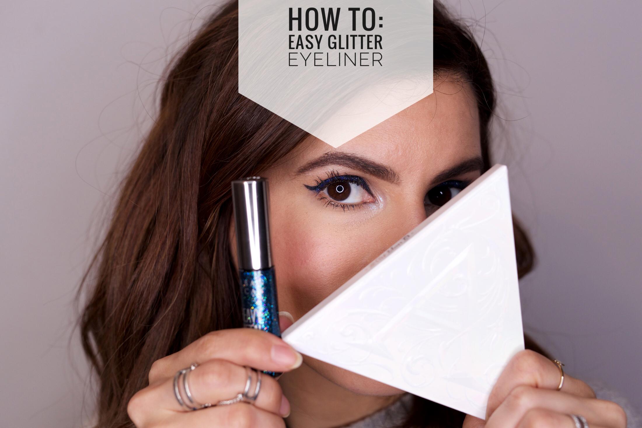 HOW TO Easy Glitter Eye Liner - woahstyle.com 2.jpg