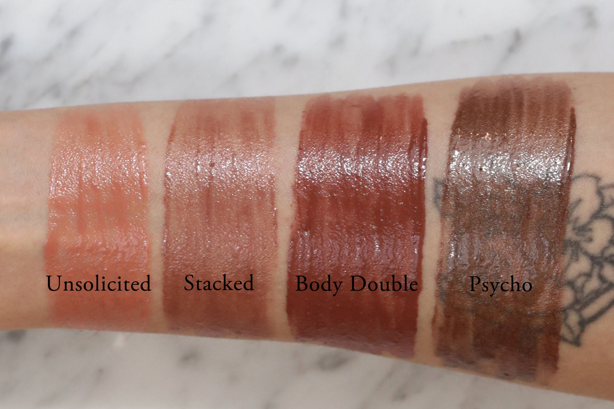 Glamglow Plumprageous Nudes Collection Review Swatches Woahstyle